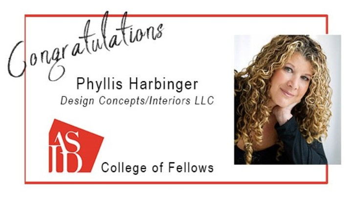 Congratulations Phyllis Harbinger, 2019 ASID Fellow!